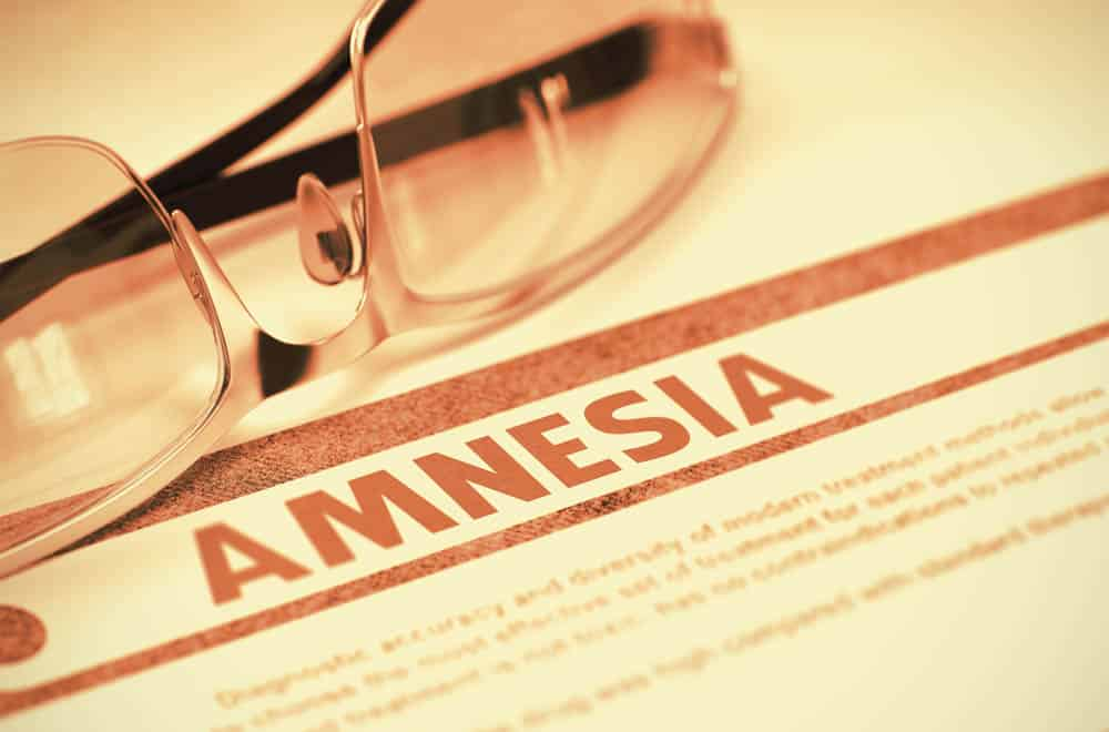 Amnesia Medical Definition