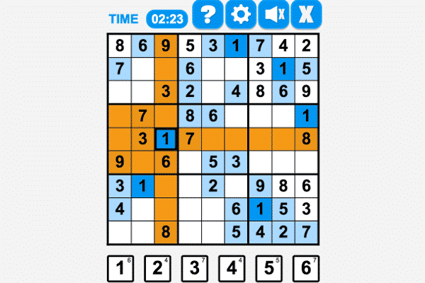 The Sudoku Game