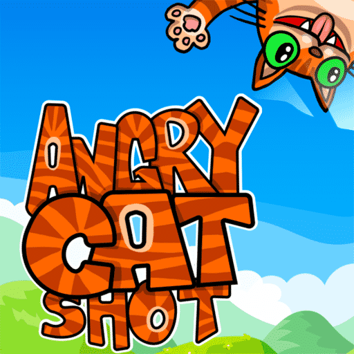 Angry Cat Shot