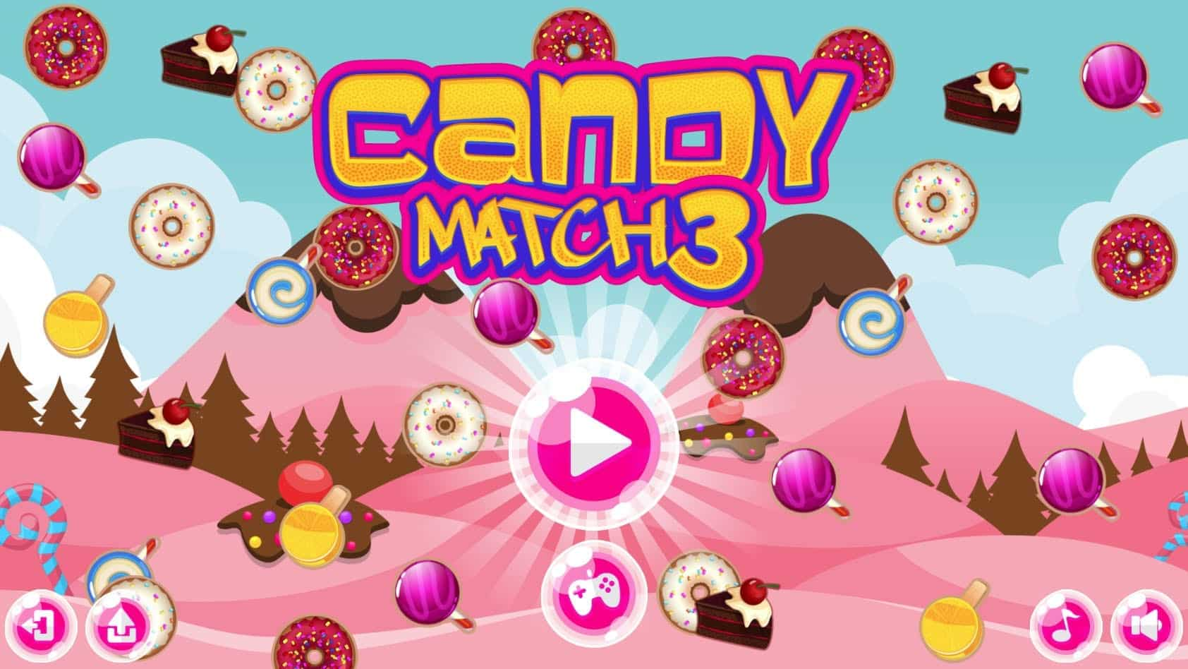 Candy Match 3 Game