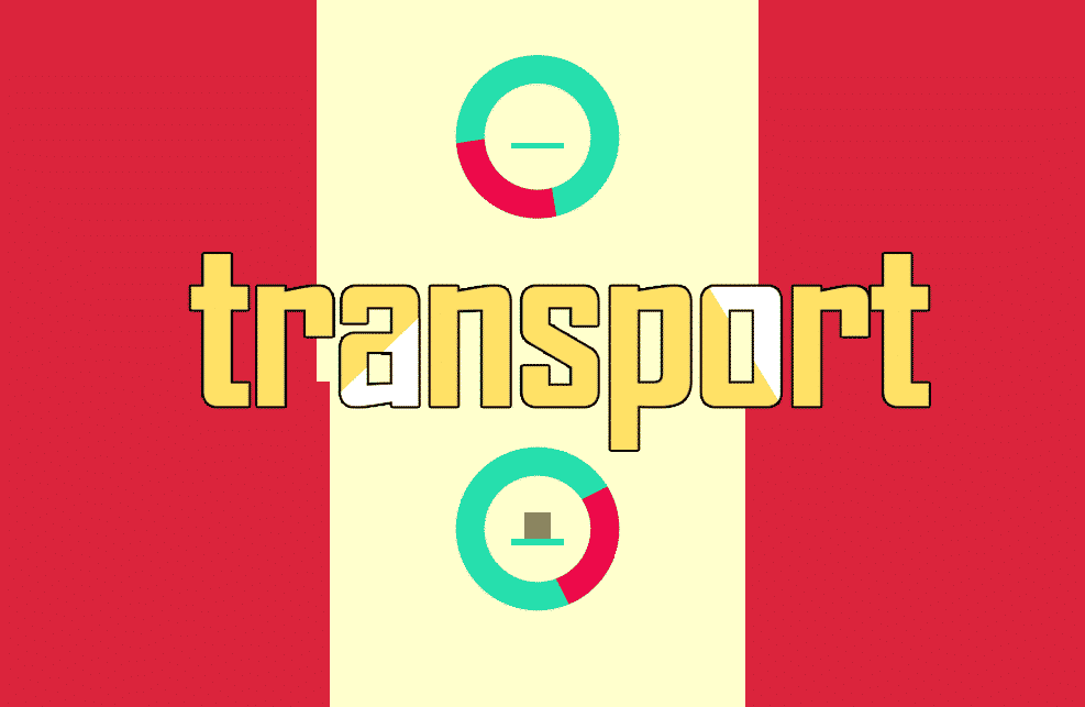 Transport Reaction Game