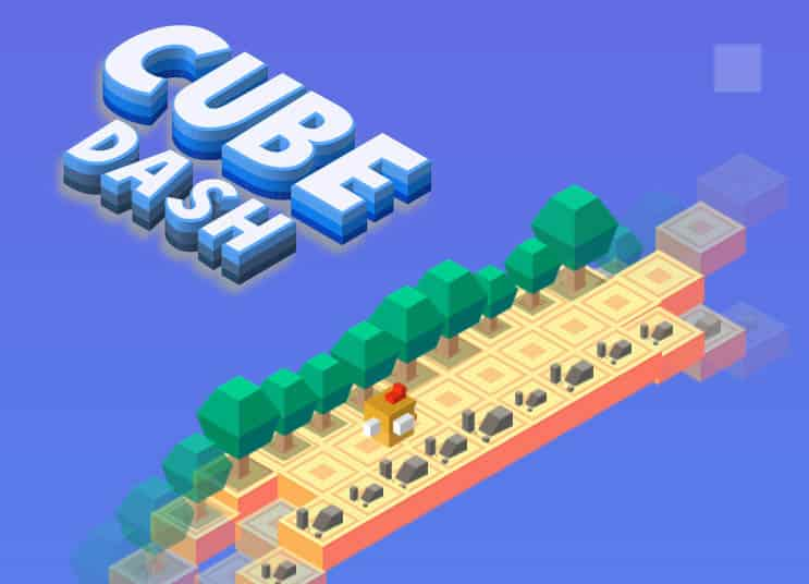Cube Dash Endless Game