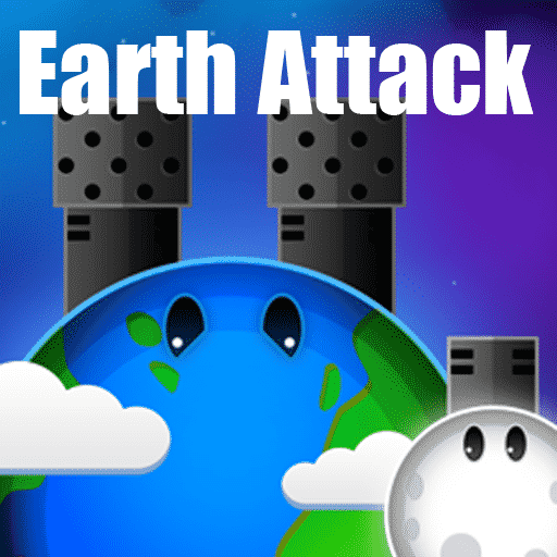 Earth Attack Shooting Game