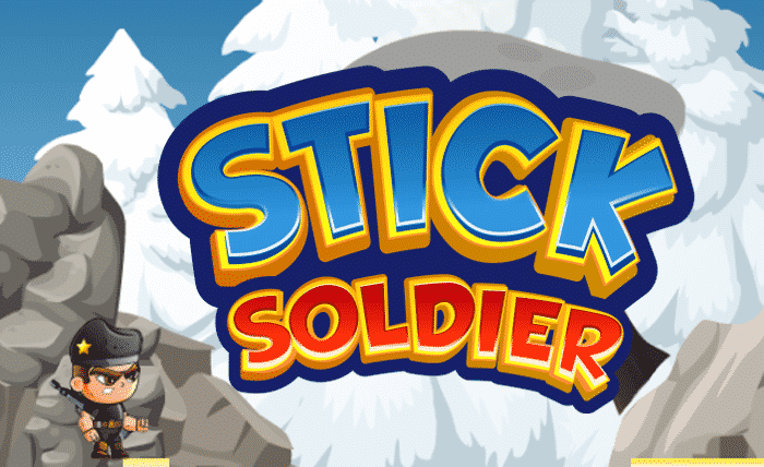 Stick Soldier Tapping Game