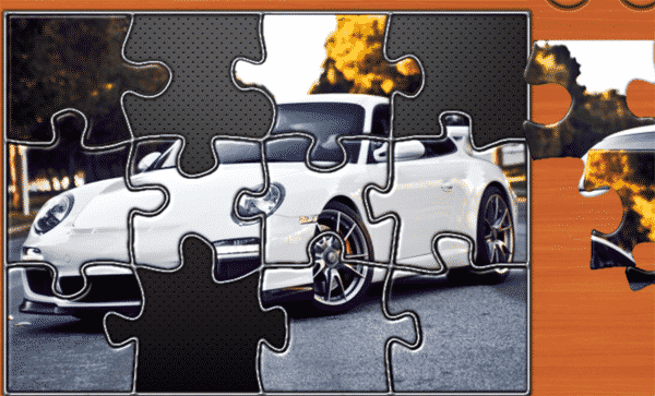 Super Car Puzzle Game