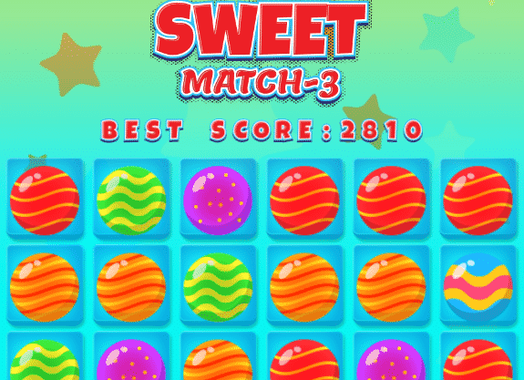 Sweet Match 3 Game