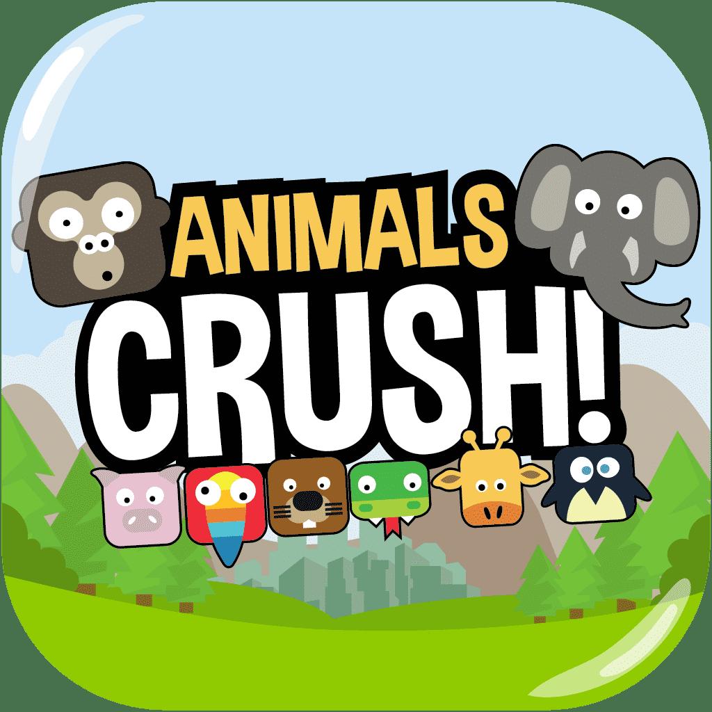 Animals Crush Match 3 Game