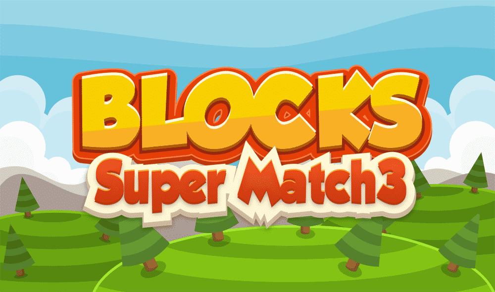 Blocks Super Match 3 Game