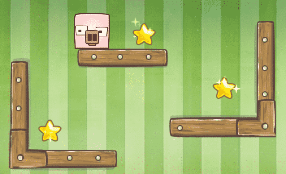 Candy Pig Physics Game