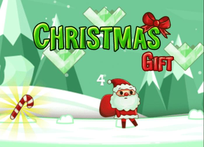 Christmas Gift Running Game