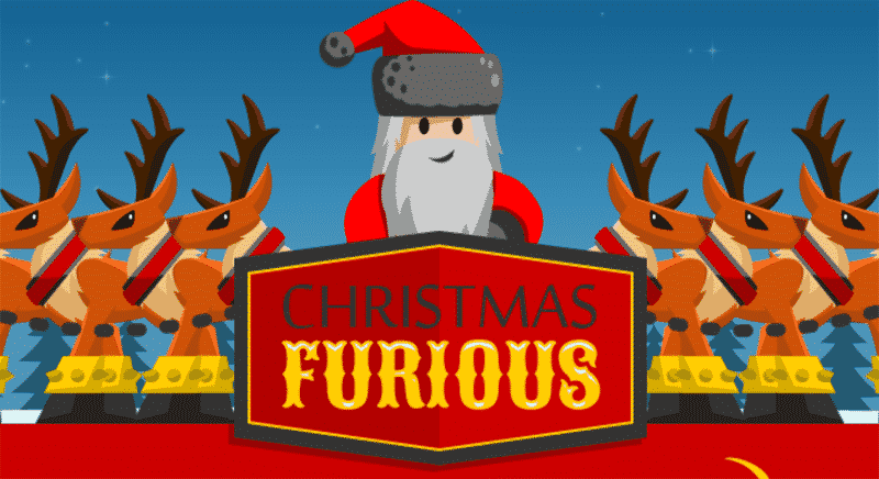 Christmas Furious Tapping Game
