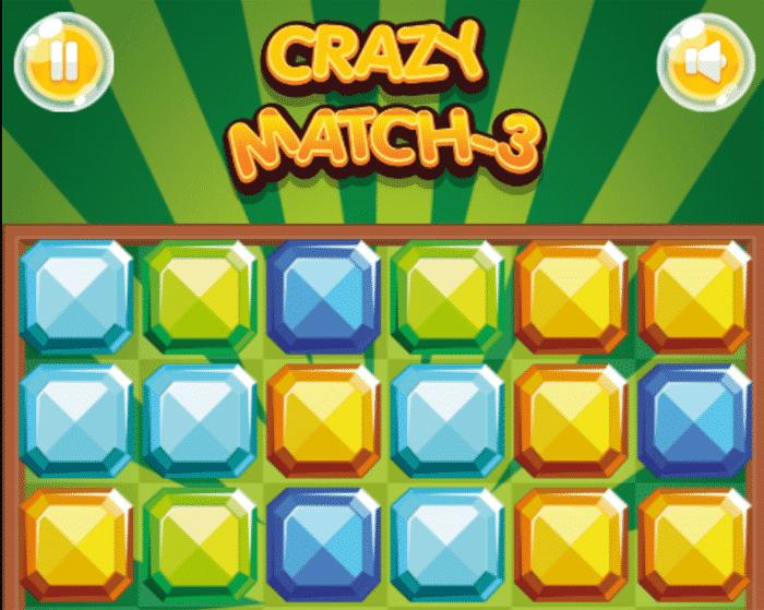 Crazy Match 3 Game