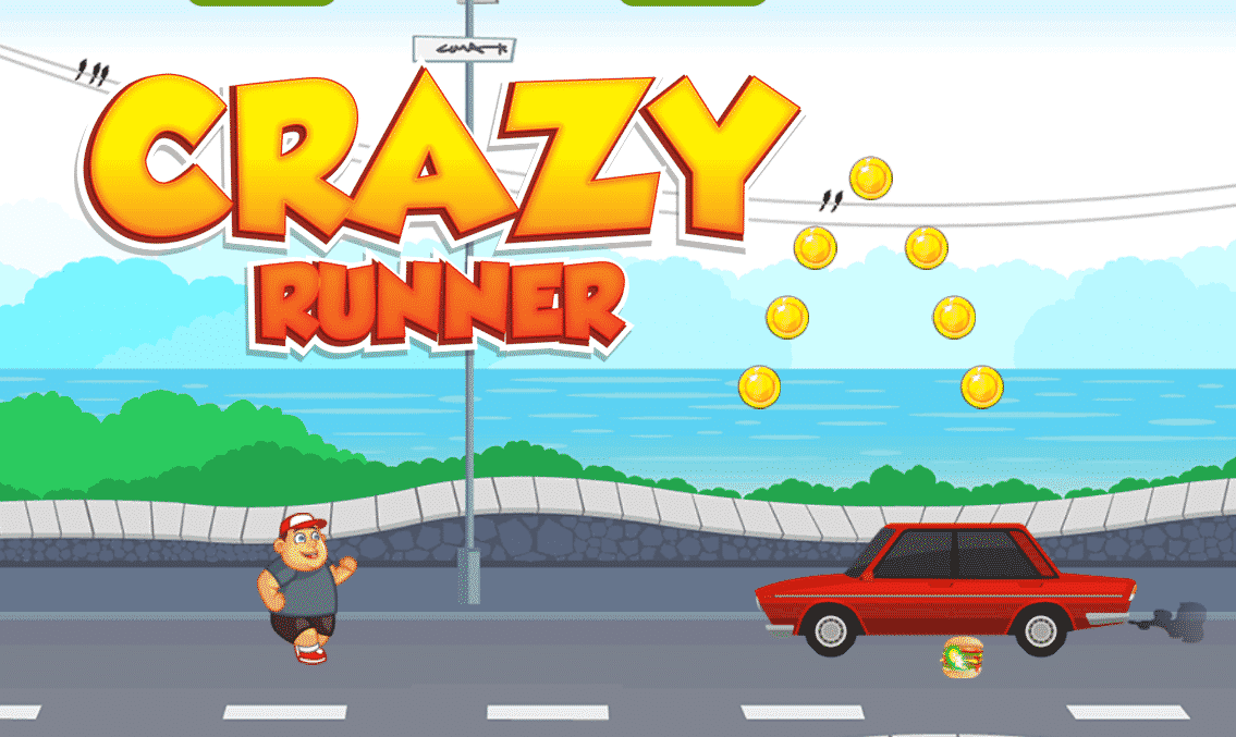 Crazy Runner Game