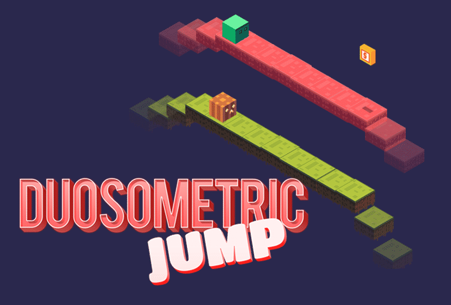 Duosometric Jump Game