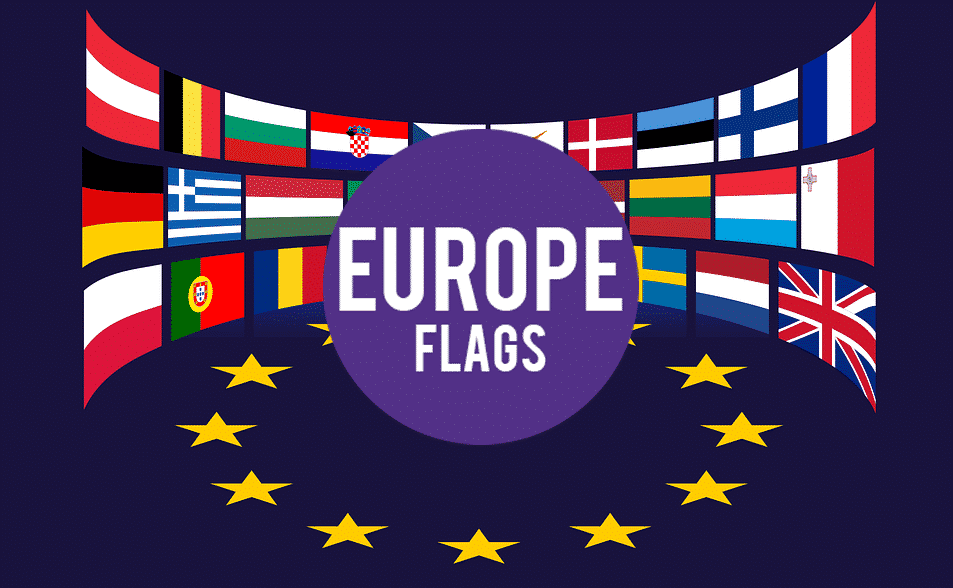 Europe Flags Game