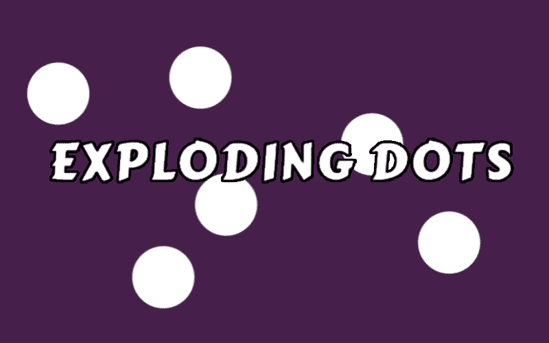 Exploding Dots Tapping Game