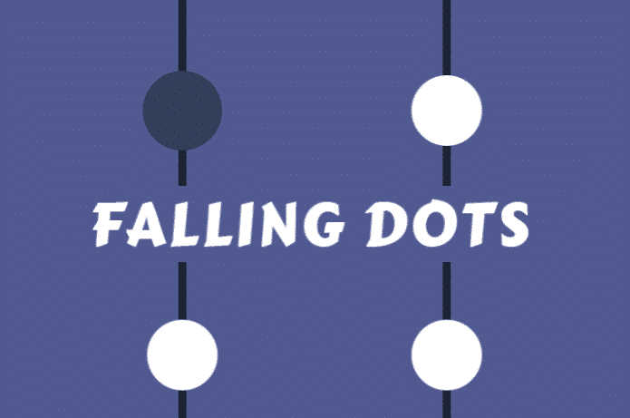 Falling Dots Concentration Game