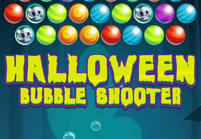 Happy Halloween Bubble Shooter Game