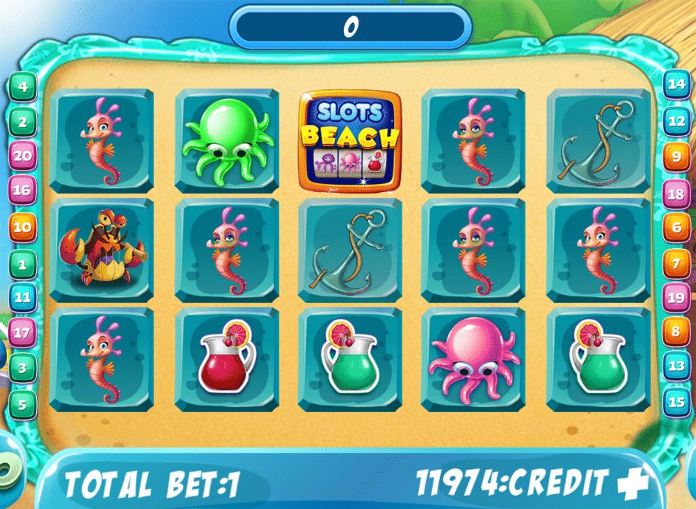 Beach Slots Game