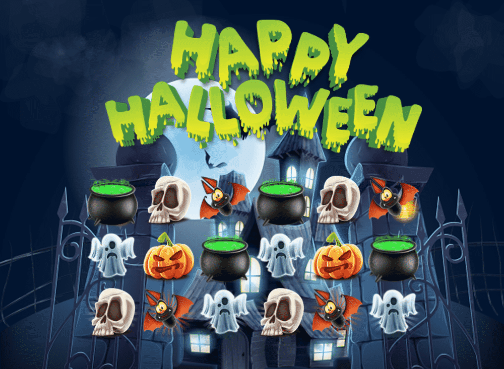 Happy Halloween Match 3 Game