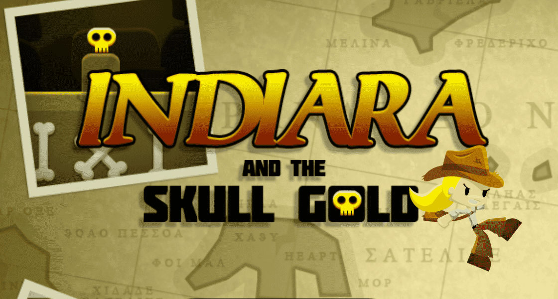 Indiara and the Skull Gold Adventure Game