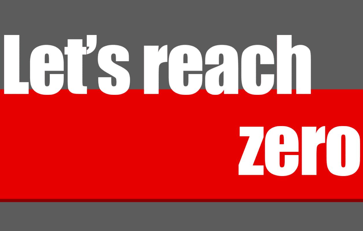 Let's Reach Zero