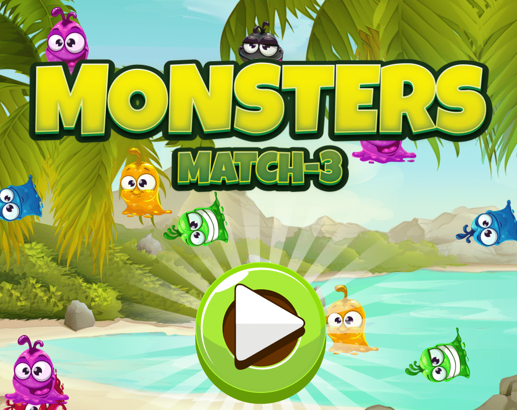 Monsters Match-3 Game