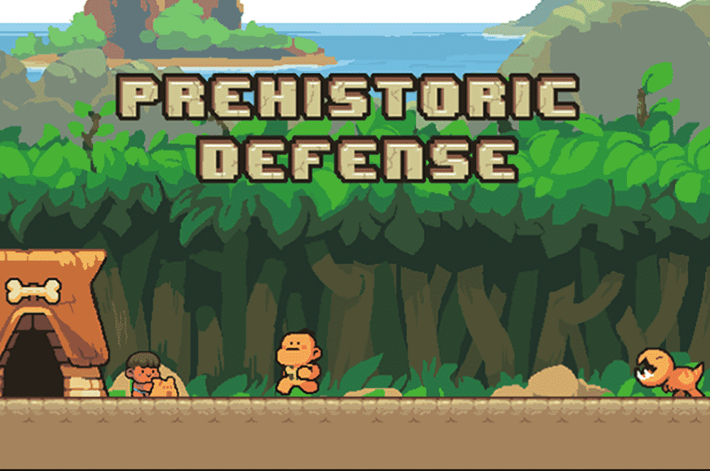 Prehistoric Tower Defense Game