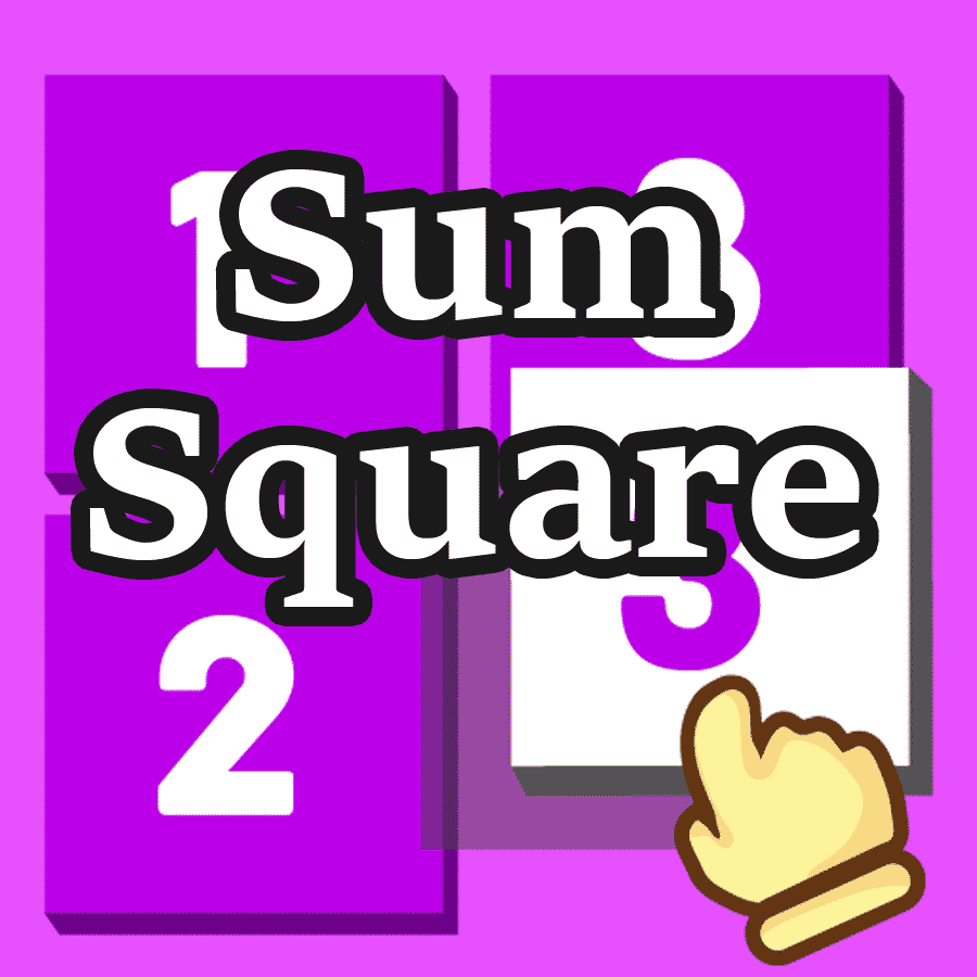 Sum Square Math Game