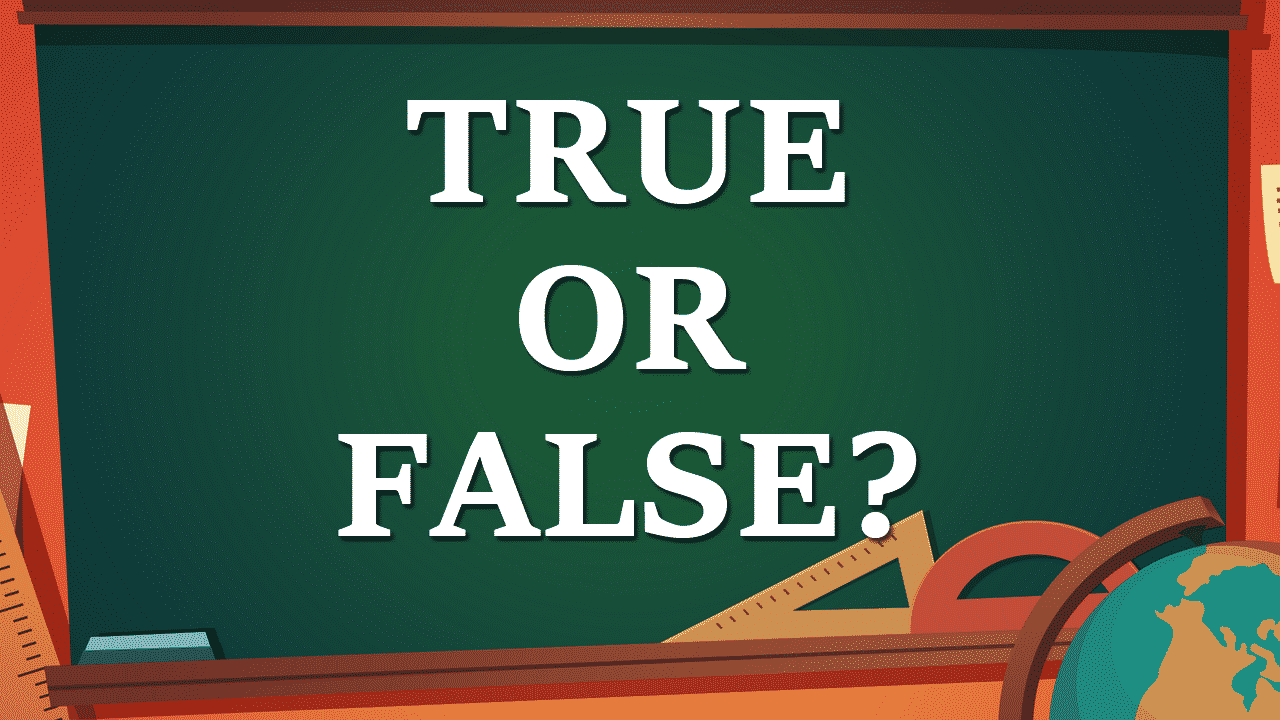 True or False Quiz Game